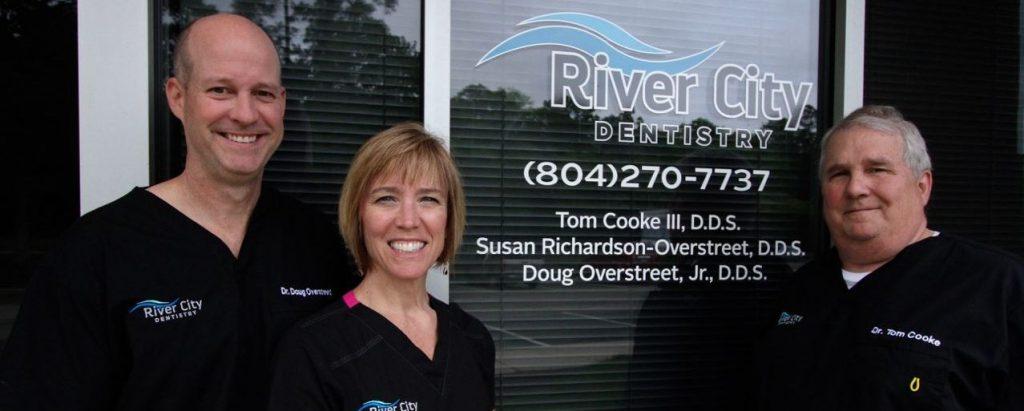 Doctor Doug Overstreet, Susan Richardson Overstreet and Thomas Cooke